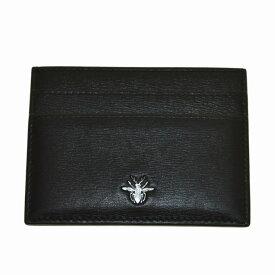 【中古】Dior Homme BEE カードケース ブラック 【041220】(ディオールオム)