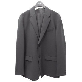 【中古】N.HOOLYWOOD 2020AW テーラードジャケット ブラック サイズ:38 【051220】(エヌハリウッド)