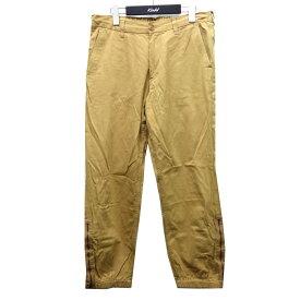 【中古】GUCCI 19AW 569770 バックポケット刺繍パンツ ベージュ サイズ:32 【051220】(グッチ)