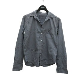【中古】Frank&Eileen BARRY コットンスキッパーシャツ グレー サイズ:XS 【131220】(フランクアンドアイリーン)