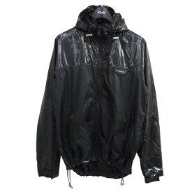 【中古】GIVENCHY 16SS 異素材切替ナイロンジャケット ブラック サイズ:XL 【220121】(ジバンシィ)