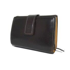 【中古】土屋鞄製造所 「CORDOVAN マスターパース」 二つ折り財布 ボルドーブラウン サイズ:- 【280221】(ツチヤカバンセイゾウショ)