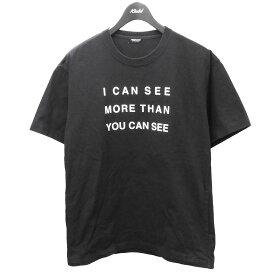 【中古】UNDERCOVERビッグTシャツ ブラック サイズ:2 【6月12日見直し】