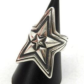 【中古】CODY SANDERSON 「DEPP STAR IN STAR」 デップインスターリング シルバー サイズ:15号 【050421】(コディサンダーソン)