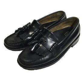 【中古】G.H.BASS&CO.41020 タッセルローファー ブラック サイズ:UK 6 1/2 【5月17日見直し】