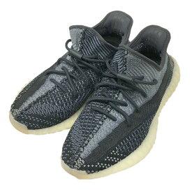 【中古】adidas Originals by KANYE WEST「YEEZY BOOST 350 V2」 スニーカー ブラック サイズ:27.5 【6月24日見直し】