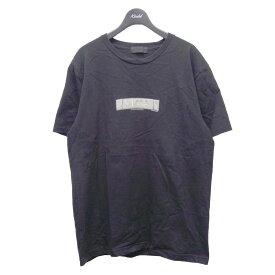 【中古】GOD SELECTION XXX×fragment design 6周年記念プリントTシャツ ブラック サイズ:L 【270421】(ゴッドセレクション トリプルエックス フラグメントデザイン)