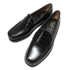 【中古】G.H.BASS コインローファー LOGAN ブラック サイズ:UK7.5(26.0cm) 【120621】(ジョージ・ヘンリー・バス)