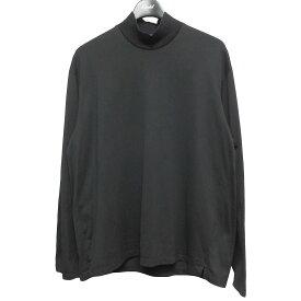 【中古】LAD MUSICIAN 20AW HIGH NECK BIG T-SHIRT ハイネックロングスリーブTシャツ ブラック サイズ:42 【180621】(ラッドミュージシャン)