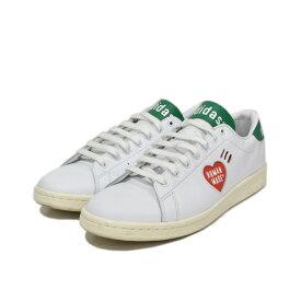 【中古】adidas STAN SMITH HUMAN MADE/スタンスミス ヒューマンメイド スニーカー ホワイト サイズ:US9 (27cm) 【050721】(アディダス)