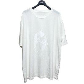 【中古】Maison Margiela10 2021SS Cameo T-shirt ホワイト サイズ:50 【150821】(メゾンマルジェラ)