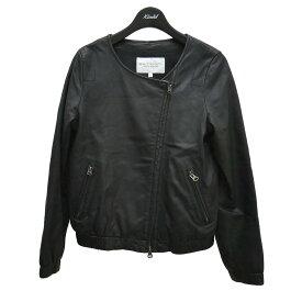 【中古】BEAUTY & YOUTH レザージャケット やぎ革 ブラック サイズ:S 【190921】(ビューティアンドユース)
