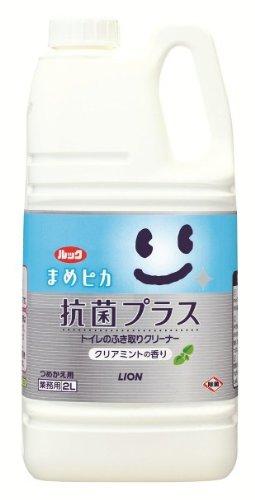 【トイレのお掃除】ルック まめピカ 抗菌プラス 2L×6本(ケース販売)