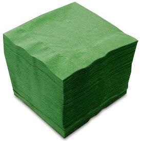 【紙ナプキン】4つ折り2PLYナプキン「イタリアングリーン」(1ケース3,000枚)