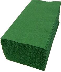 【紙ナプキン】8つ折り2PLYナプキン「イタリアングリーン」(1ケース2000枚)