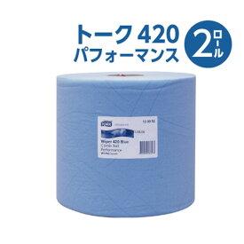 【エステー】 トーク420 パフォーマンス (2ロール) 紙ウエス