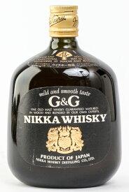 神奈川県内への発送限定 THE NIKKA ニッカウヰスキー G&G 黒瓶 760ml 43度 ≪特級表記≫≪箱なし≫≪国産ウイスキー≫ #123 alc