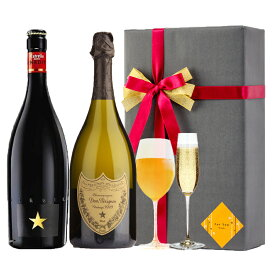 プレゼント ラッピング お酒 おしゃれ ギフトイネディット& ドンペリ 白 2本セット 高級 ビール 金賞 シャンパン 飲み比べ #gift137R alc