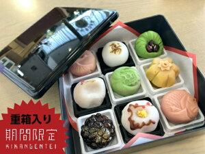 5セット限定【 重箱入りお祝 】9個入 高級 上生菓子 練り切り 個包装 お取り寄せ 送料無料
