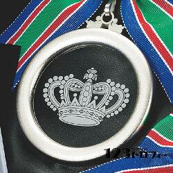 アクリルレリーフMCメダル直径80mm《ASH-2》★彫刻無料