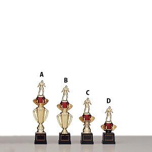 トロフィー T8859C ★高さ240mm《A-0》選べる競技108種類★名入れ彫刻無料 ゴルフコンペ 野球 サッカー バレー バスケットボール スポーツ大会 優勝記念品
