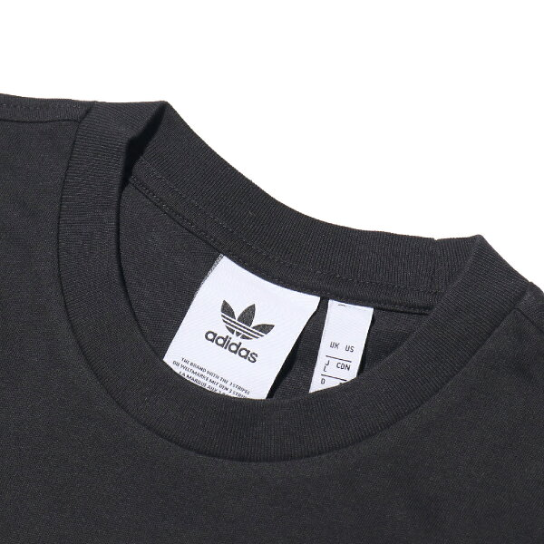 adidasOriginalsTREFOILTEE(Black)【メンズサイズ】【18SS-I】