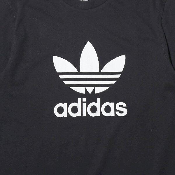 adidasOriginalsTREFOILTEE(Black)(アディダスオリジナルストレフォイルTシャツ)【メンズ】【Tシャツ】【19SS-I】
