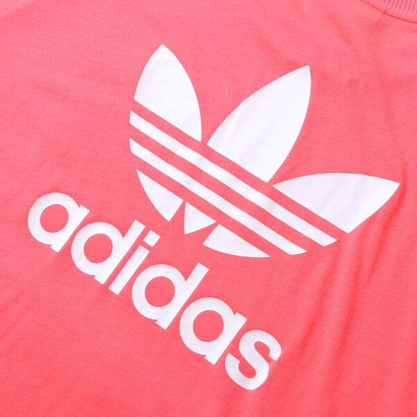adidasTREFOILDRESS(FLASHRED)(アディダストレフォイルドレス)【レディーズ】【ワンピース】【19SS-I】