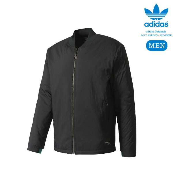 adidasOriginalsEQTADVSSTJACKET(BLACK)【メンズサイズ】【17SS-I】【30】【sale0123】