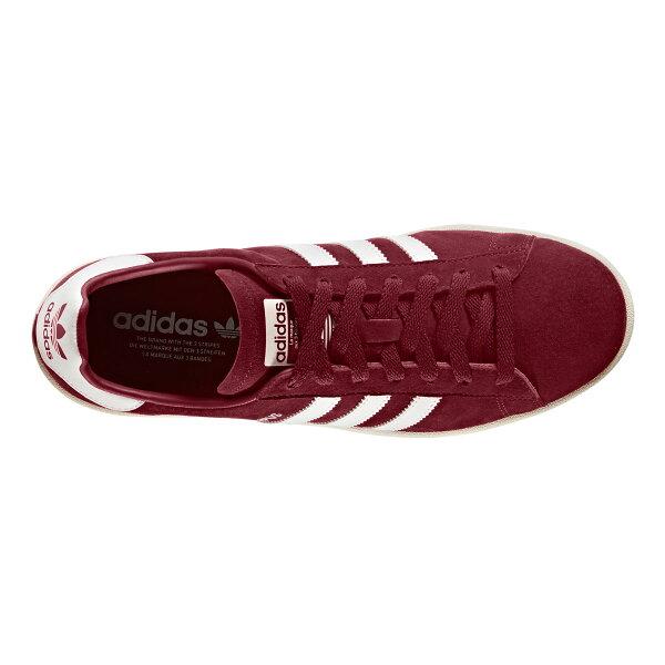 adidasOriginalsCAMPUS(CollegiateBurgundy/RunningWhite/ChalkWhite)【メンズサイズ】【17FW-I】