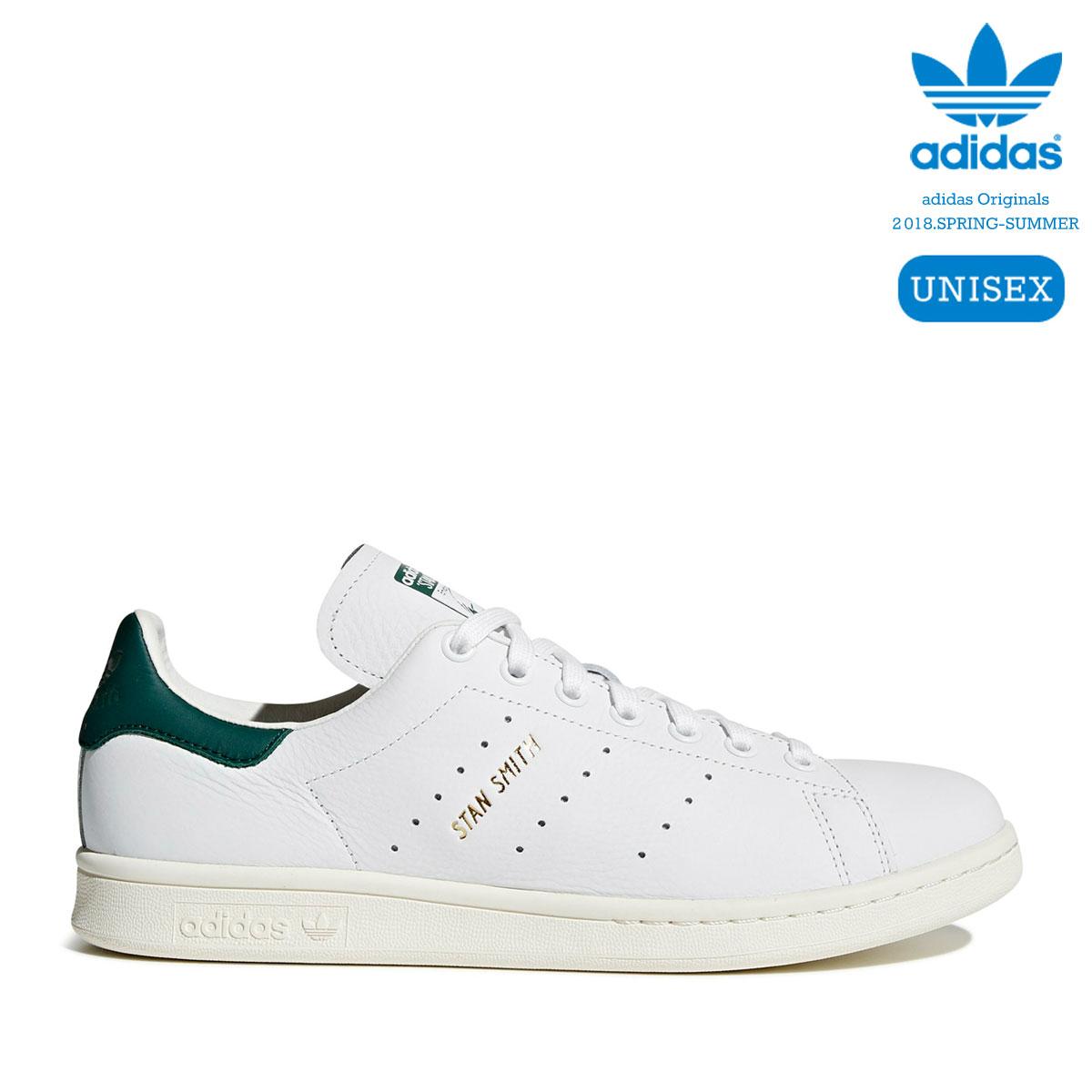 adidas Originals STAN SMITH (Running White/Running White/Collegiate Green) 【ユニセックスサイズ】【18SS-I】
