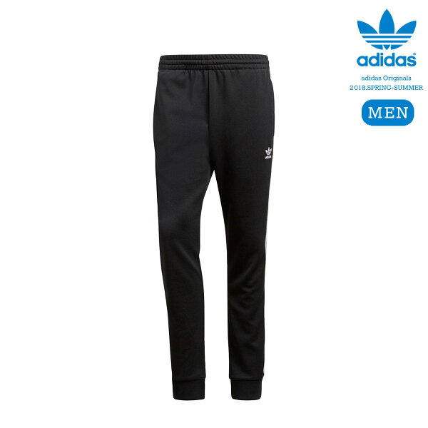 adidasOriginalsSSTTRACKPANTS(Black)【メンズサイズ】【18SS-I】