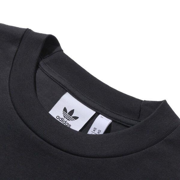 adidasOUTLINETEE(BLACK)(アディダスアウトラインティー)【メンズ】【半袖Tシャツ】【19SS-I】