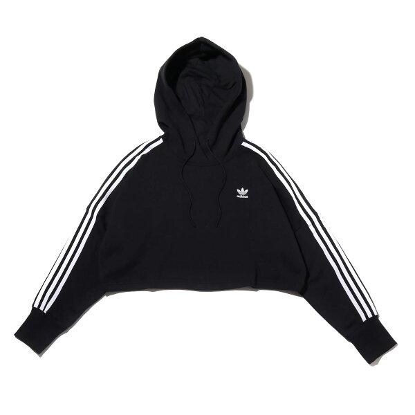 adidasCROPPEDHOOD(BLACK)(アディダスクロップドフード)【レディース】【パーカー】【19FW-I】