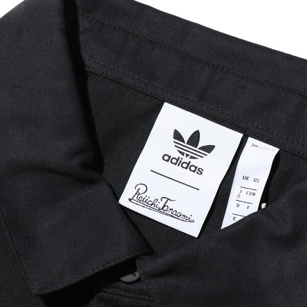 adidasGALLLERYRUGBYSHIRT(BLACK)(アディダスギャラリーラグビーシャツ)【メンズ】【シャツ】【19FW-S】
