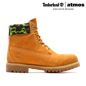 Timberland for atmos 6inch Premium Waterproof Boots (WHEAT CAMO) (ティンバーランド アトモス 6インチ プレミアム ウォータープルーフ ブーツ) 【Kinetics】【atmos】【Duck Hunter】【ダックハンター】【ストリート】【15FW-S】【40】【sale0123】