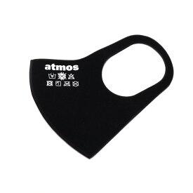 atmos 3D LOGO MASK(BLACK)(アトモス スリーディー ロゴ マスク)【メンズ】【レディース】【マスク】【20SP-I】