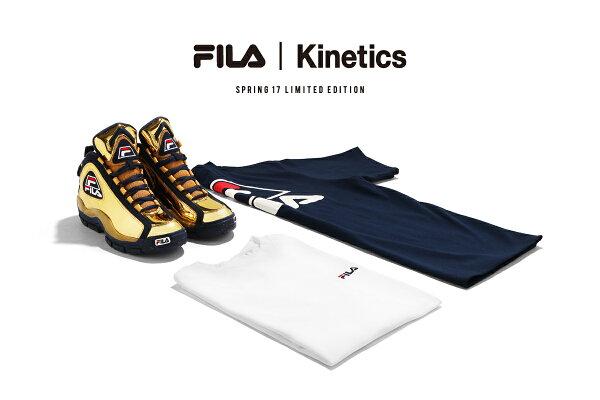 FILA×Kinetics96GLMetallic(GOLD)【メンズサイズ】【17SP-I】