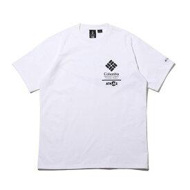 COCA-COLA x Columbia x ATMOS LAB CSC BASIC LOGO TXT SHORT SLEEVE T-SHIRT(WHITE, BLACK)(コカコーラ コロンビア アトモスラボ ベーシック ロゴ ショート スリーブ ティーシャツ)【メンズ】【半袖Tシャツ】【20SP-S】