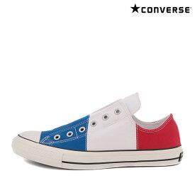 CONVERSE ALL STAR 100 PAIRFLAG SLIP OX (Holland)(レッド / ホワイト / ブルー)(コンバース オールスター 100 ペアフラッグ スリップ オックス)【メンズ】【レディース】【スニーカー】【18SP-I】