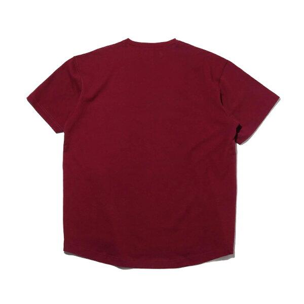 DCSHOESDCBA19LOGOSS(BORDEAUX)(ディーシーシューズDCBA19ロゴSS)【メンズ】【Tシャツ】【19SS-I】