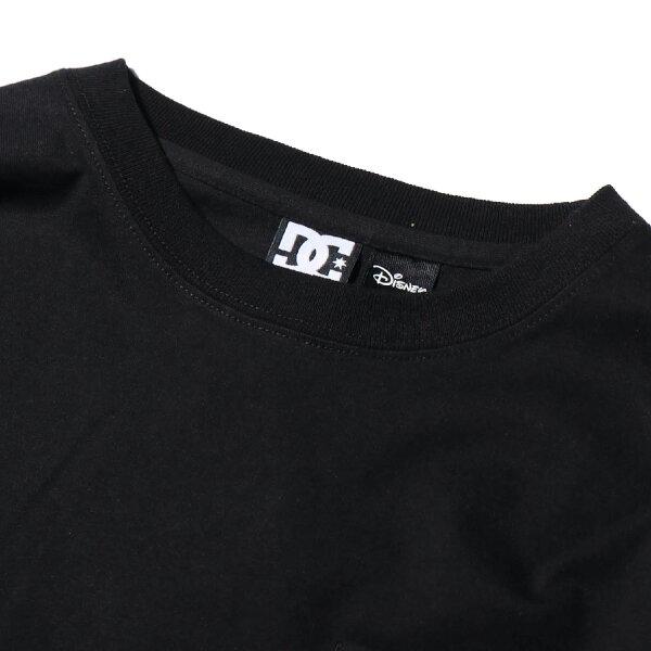 DCSHOES19MICKEYHASBOARDPOCKETLS(BLACK)(ディーシーシューズミッキーハズボードロングスリーブ)【メンズ】【長袖Tシャツ】【19FW-I】