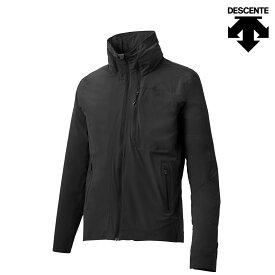 DESCENTE ALLTERRAIN STRETCH PACKABLE JACKET(BLACK)(デサント オルテライン ストレッチ パッカブル ジャケット)【メンズ】【ジャケット】【18SP-I】