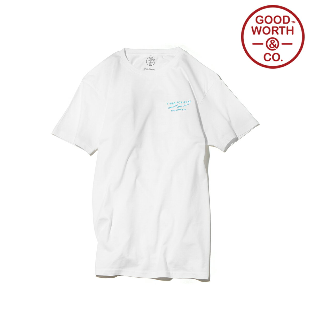 GOOD WORTH & CO. PEEP SHOW T-SHIRT (2色展開) 【メンズサイズ】【17SP-I】【50】【sale0123】