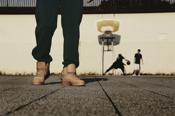 "FILA×KineticsFX-100""Wheat""(WHEAT/GREEN)【メンズサイズ】【17FW-S】"