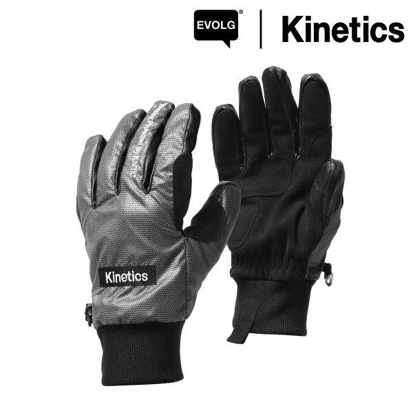EVOLG×KineticsReflectiveGlove(BLACK)【17AW-S】