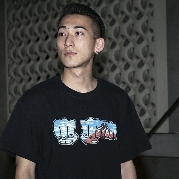 TOYMACHINE×KineticsMt.RedT-Shirt(2色展開)【18SU-S】