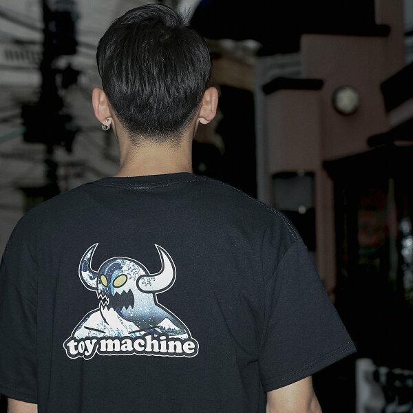 TOYMACHINE×KineticsGreatWaveT-Shirt(2色展開)【18SU-S】