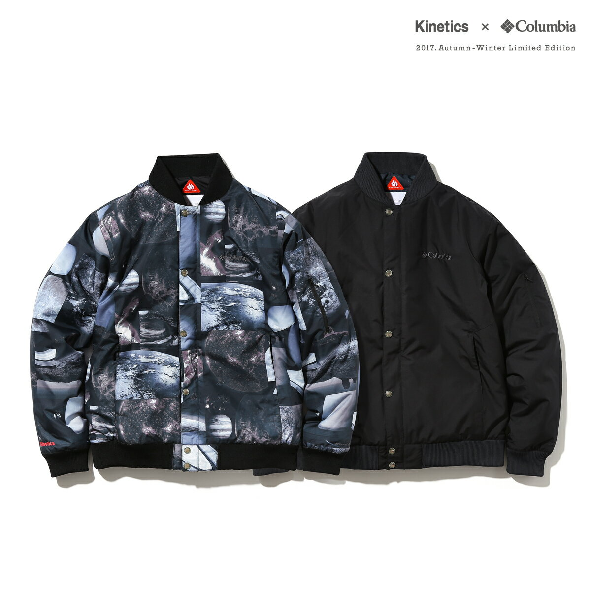 Kinetics × Columbia Pilot Sweep Jacket (2色展開) 【OMNI-HEAT】【撥水】【防汚】【17AW-S】【40】【sale0123】