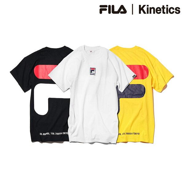 FILA×KineticsBIGHOUSELOGOTEE(3色展開)【メンズサイズ】【18SS-I】